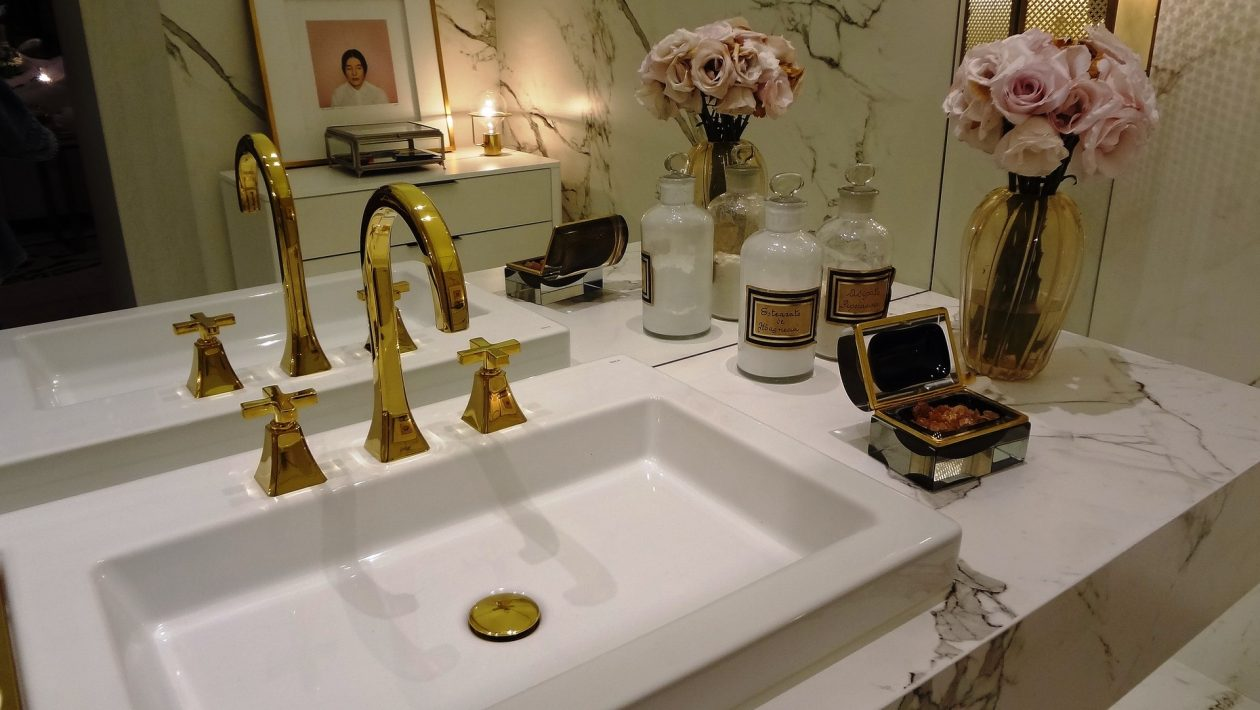 Luxury Bathroom On A Budget